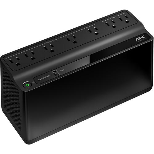 APC Back-UPS 650VA Battery Backup & Surge Protector with USB Charging Port $45.49