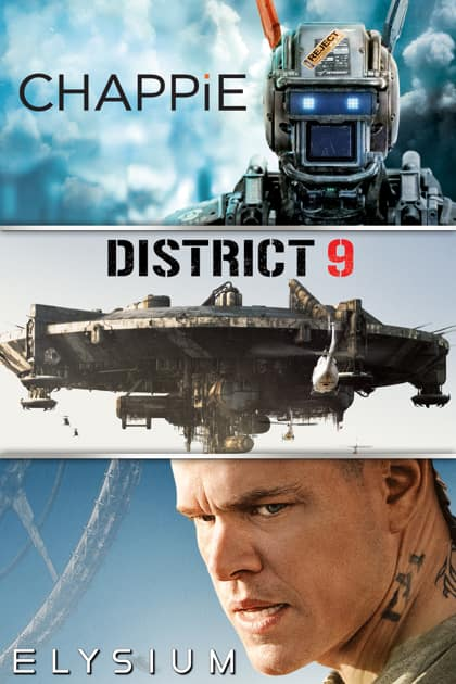 Digital 4k HDR movie bundle of District 9, Elysium, Chappie on Apple TV + 4th Bonus Movie (via Movies Anywhere) - $14.99