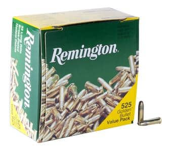 Remington Golden Bullet 22LR 525 pack $15.99 after rebate @Sportsman's Warehouse