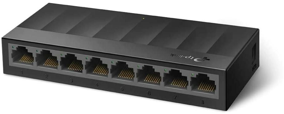 TP-Link Litewave 8 Port Gigabit Ethernet Switch $15.99 at Amazon
