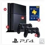 Costco Members Only: PlayStation®4 System Bundle (PS4) | Additional Controller | PlayStation®Plus 1 Year Membership @ Costco.com $499.99 + 19.99 S&H