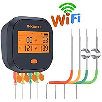 Inkbird Wifi Grill Thermometer IBBQ-4T @ Amazon $84