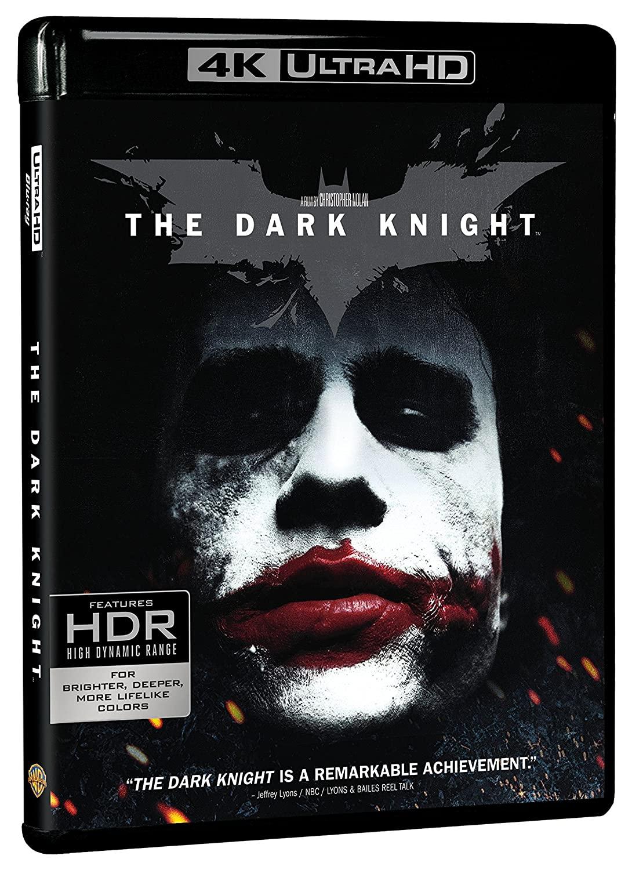 Dark Knight, The (4K Ultra HD + Blu-ray) $14.99