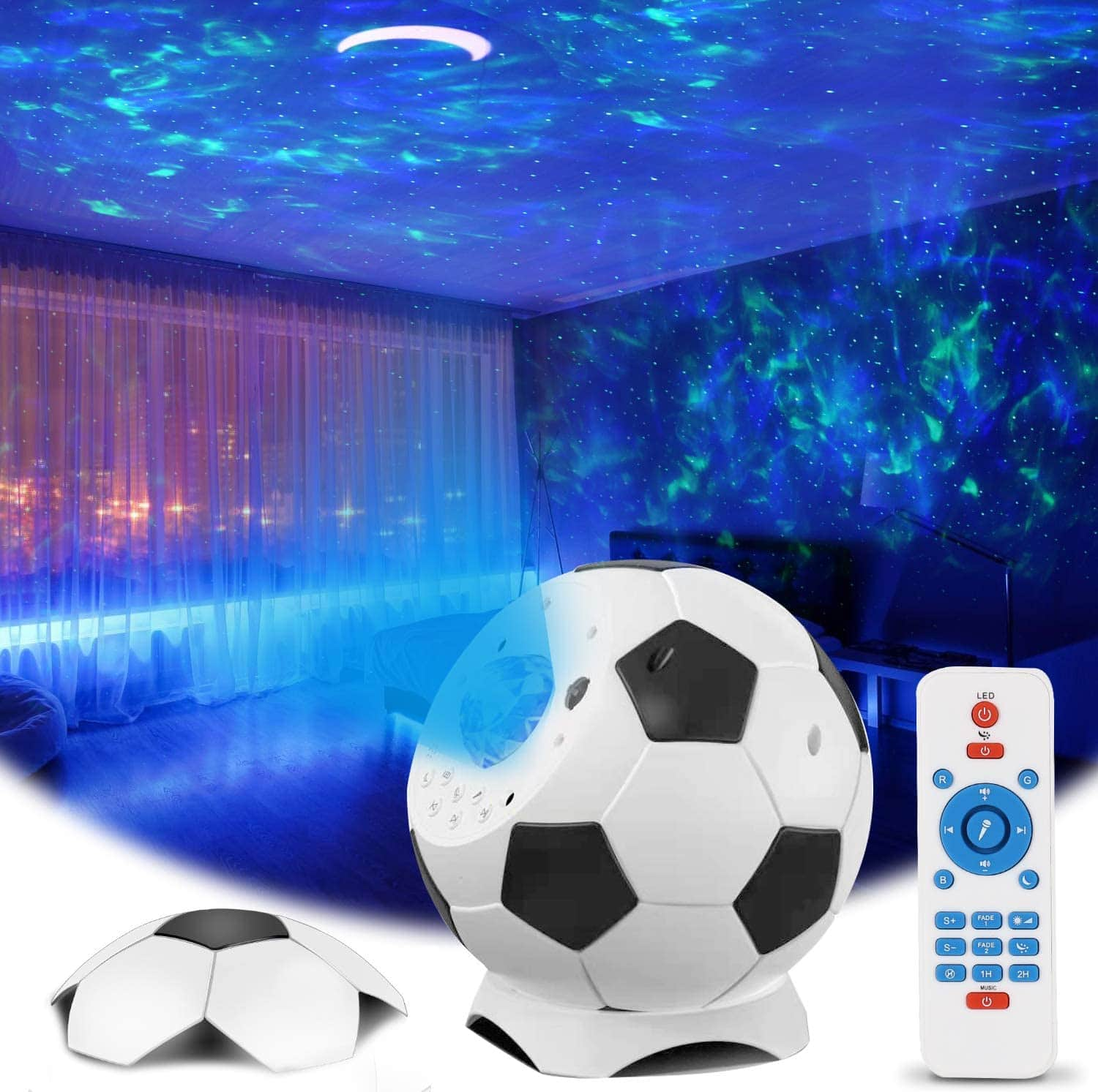 Projector Night Light for Soothing Aurora Effect $29.97
