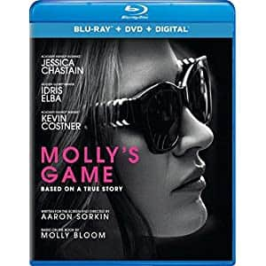 Molly's Game [Blu-ray] $4.99