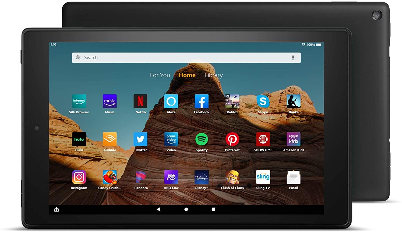 """Fire HD 10 Tablet (10.1"""" 1080p full HD display, 32 GB) $94.99"""