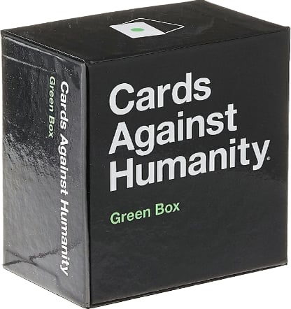 Cards Against Humanity : Green Box • 300-card expansion $15