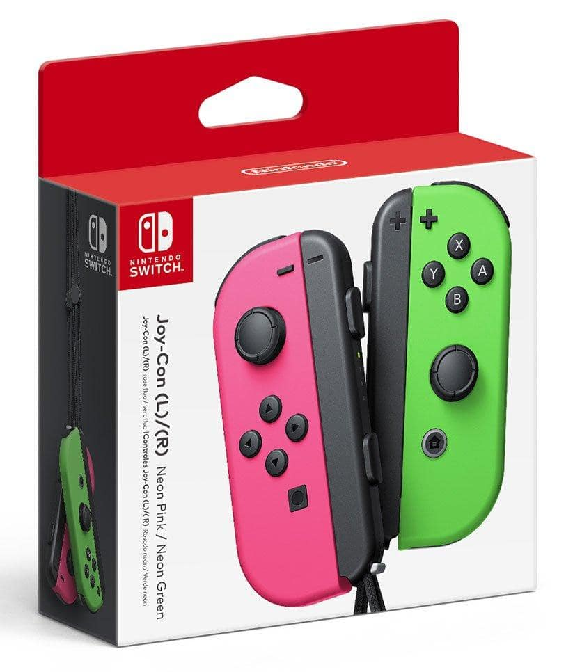 Nintendo Switch Joy-Con (L/R) Wireless Controllers for Nintendo Switch - red/blue and green/pink AVAILABLE! $79.99