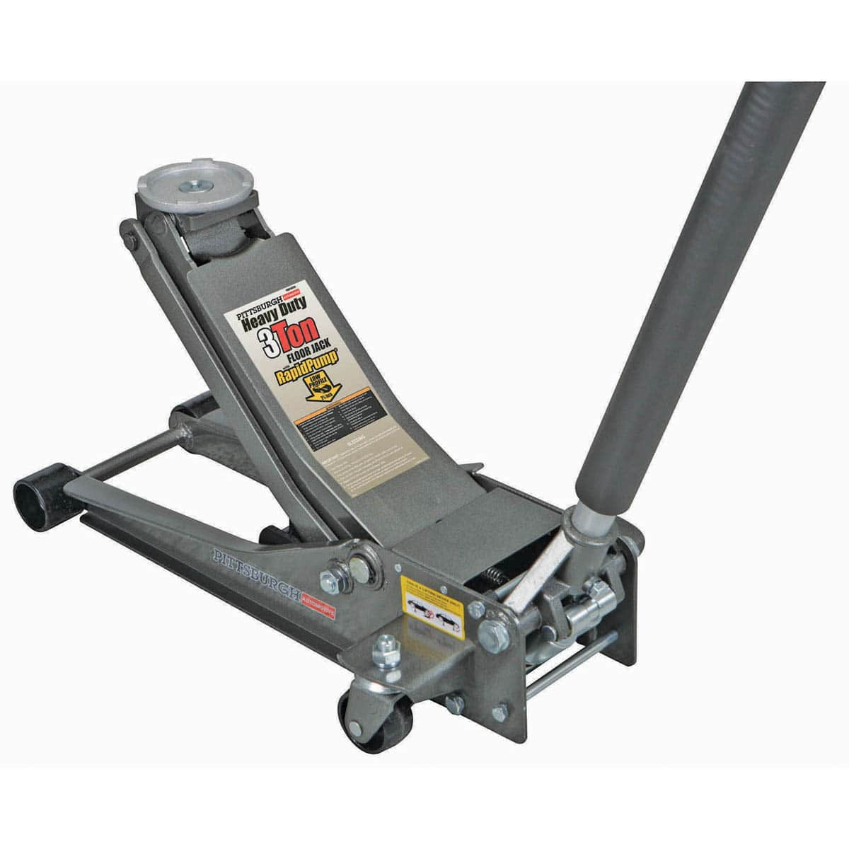 Pittsburgh 3 ton Low Profile Steel Heavy Duty Floor Jack $79.99 @ Harbor Freight
