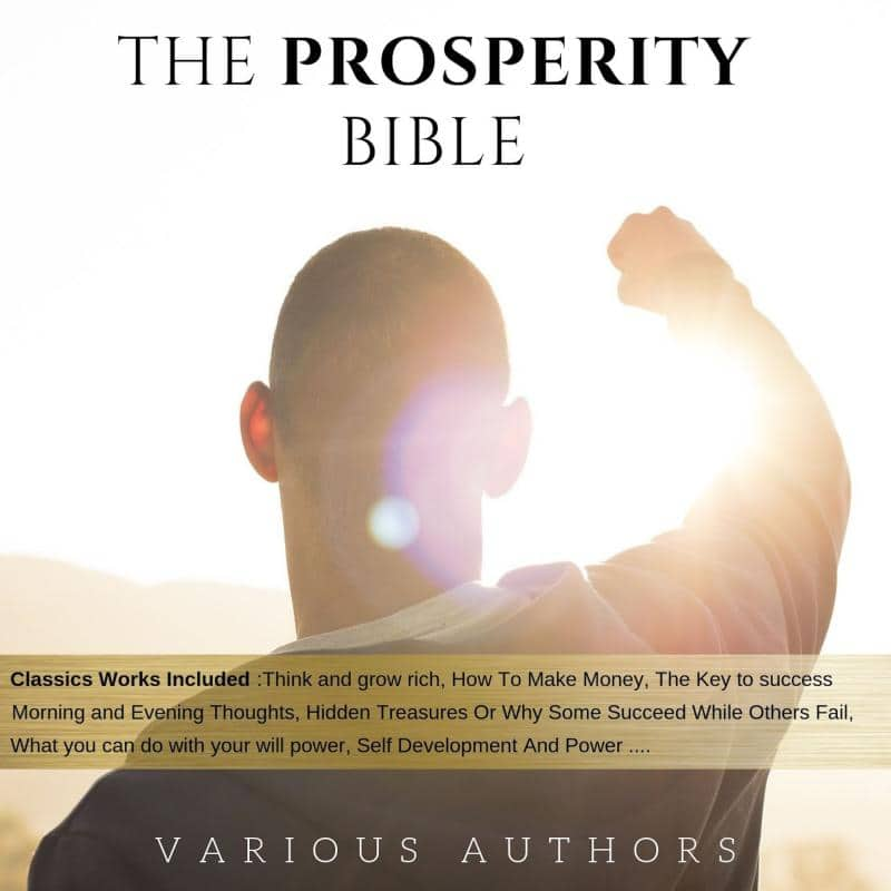[Unabridged Audiobooks] The Prosperity Bible: The Greatest Writings of All Time On The Secrets To Wealth And Prosperity $0.99@ Google Play Audio