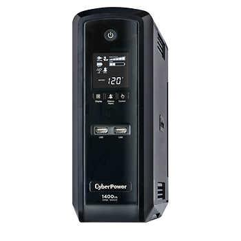 CyberPower 1400VA / 900Watts True Sine Wave Uninterruptible Power Supply (UPS) @ Costco.com $179.99