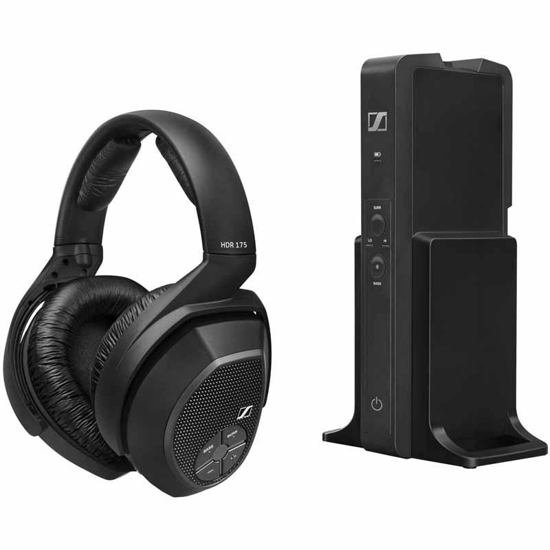 Sennheiser Over-the-Ear Wireless Headphone System - Black RS 175 $149.95