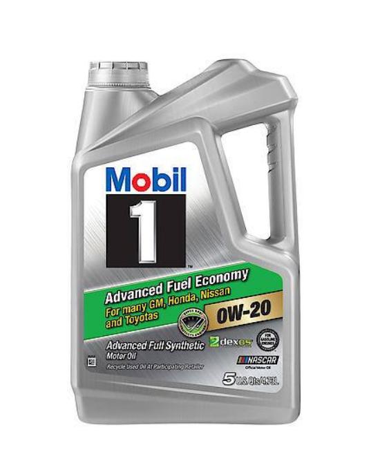 AutoZone B&M: Mobil 1 Synthetic 5qt $8 AR, Shell Rotella Gas Truck 5qt $10 AR