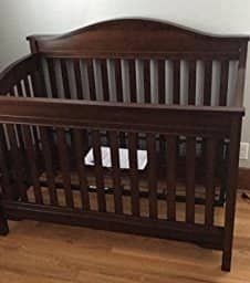 Eddie Bauer convertible Crib at $133.99 for Prime member after $50 coupon