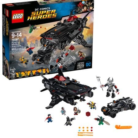 Lego 76087 Super Heroes Flying Fox: Batmobile Airlift Attack $64.00 or as low as $30 (original 129.99) at Walmart BM store YMMV and more