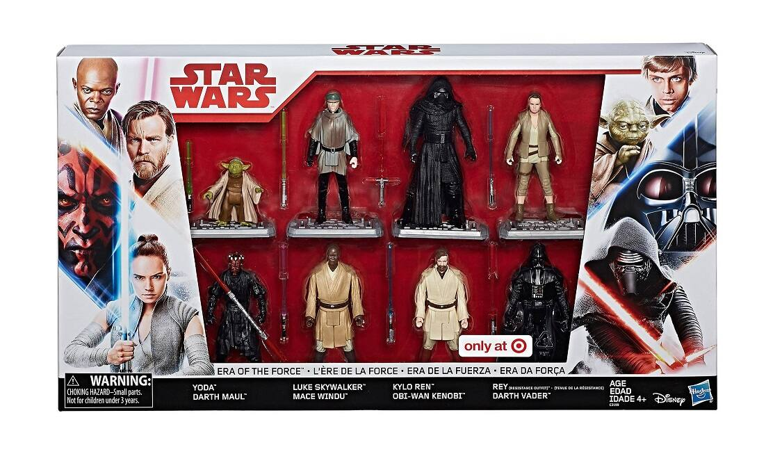 YMMV Star Wars Era of the Force Figure 8pk Clearance $19.98 In Store Only @Target
