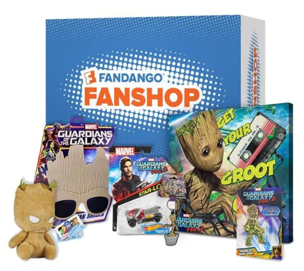 50% Off FandangoFanShop Sale Items (Guardians of the Galaxy Vol. 2 - Get Your Groot On Box, Despicable Me 3 Fluffy Funko Pop, Hulk Smash Fx Fists and more)