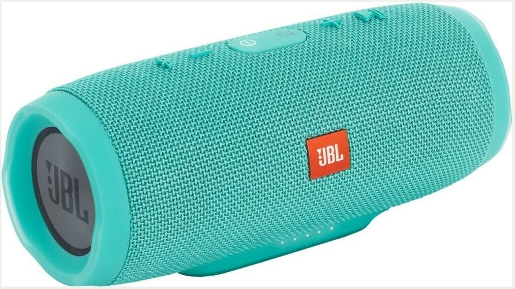 New JBL Charge 3 Waterproof Portable Bluetooth Speaker (Blue, Teal) $79.99