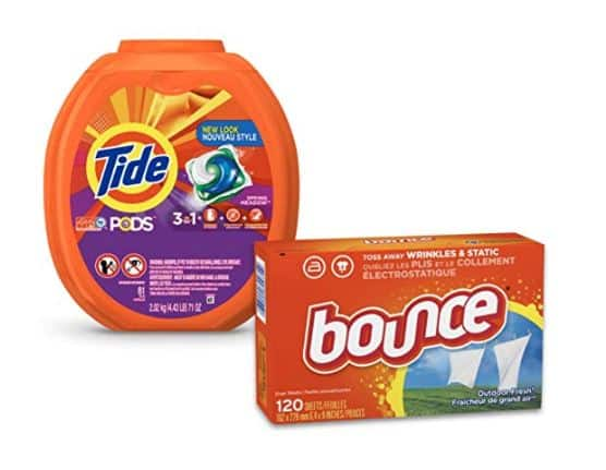 20% Off Tide, Downy, Bounce, Gain, and Dreft Laundry Bundles