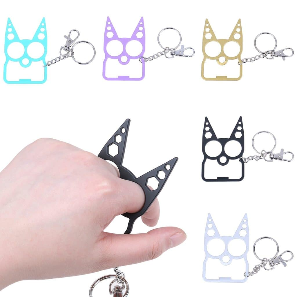 Stay Safe Self Defense Kitty Keychain 8 99 Slickdeals Net