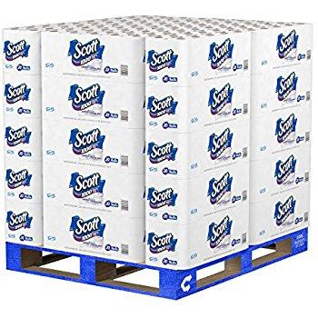 Amazon.com - Scott 1000 Sheets Per Roll Toilet Paper,  Full Pallet $22.38+FS