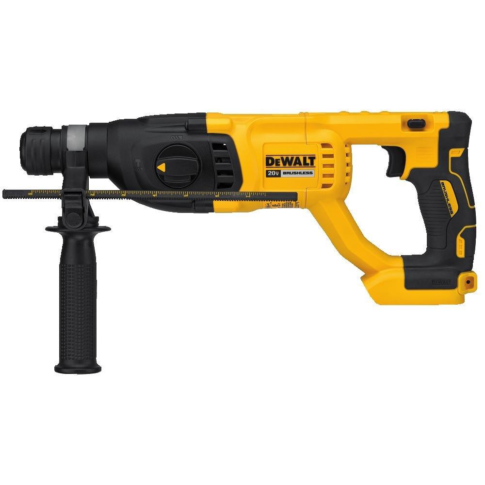 DEWALT 20V MAX XR Rotary Hammer Drill, D-Handle, 1-Inch, Tool Only (DCH133B) (