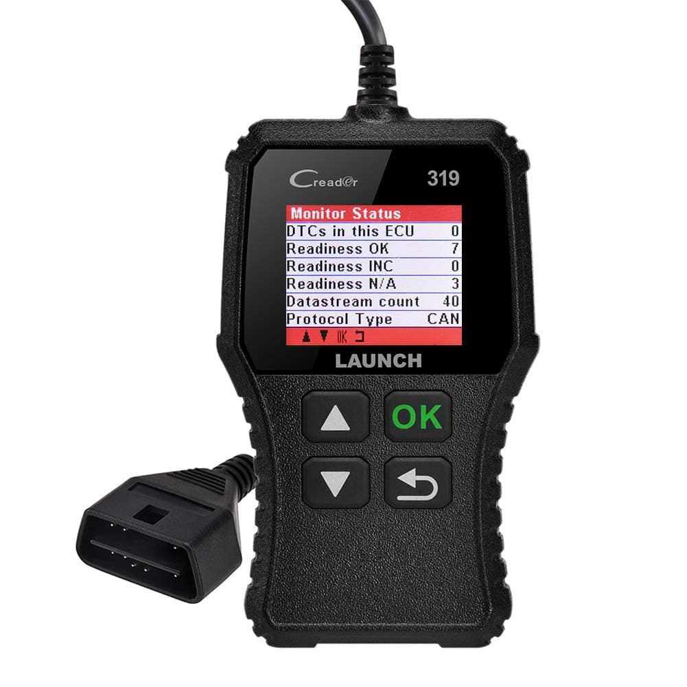 LAUNCH CR319 OBD2 Scanner with full obd2 function and DTC lookup $13.99