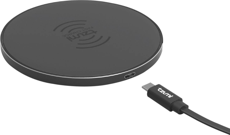 Tzumi - HyperCharge 10 Watt Wireless Charging Pad - Black $17.99