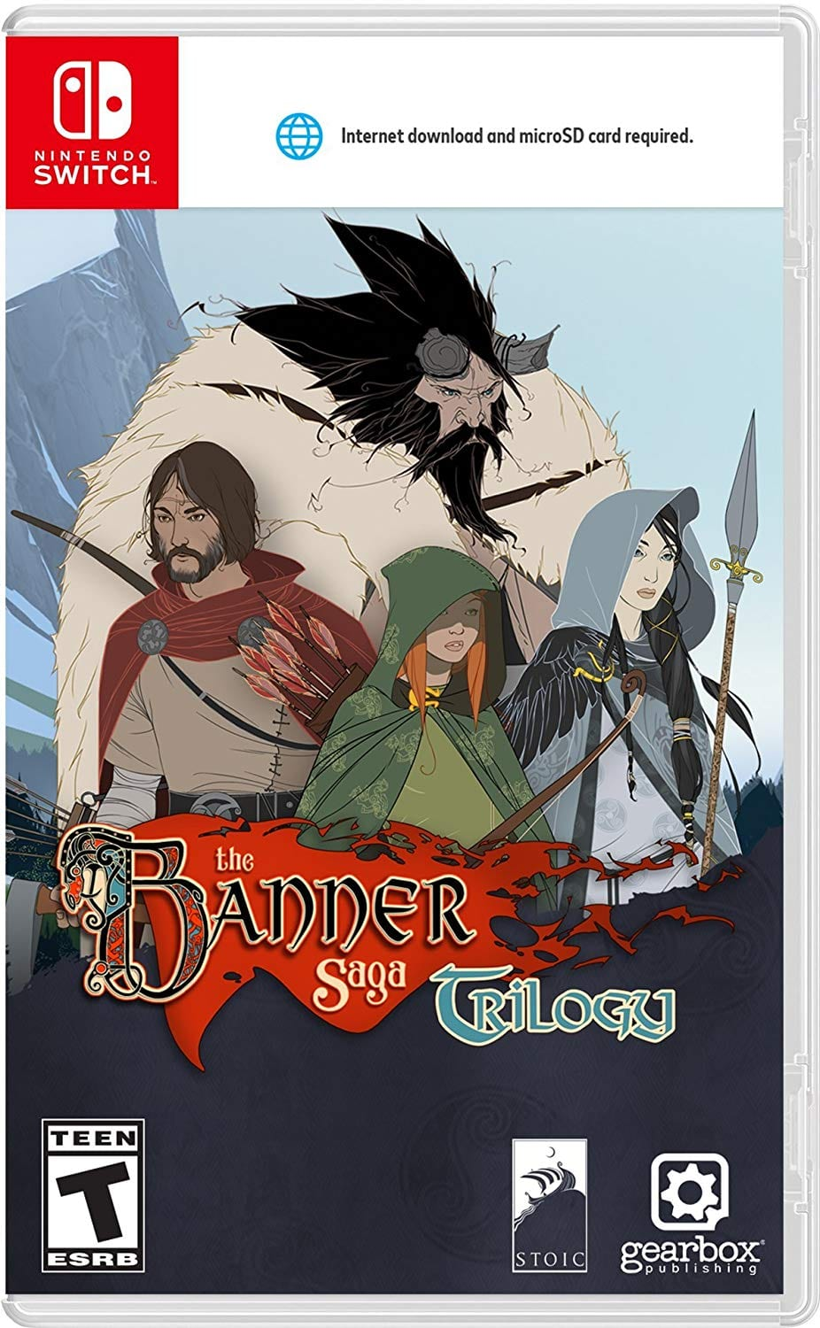 Banner Saga Trilogy - Nintendo Switch $16.75