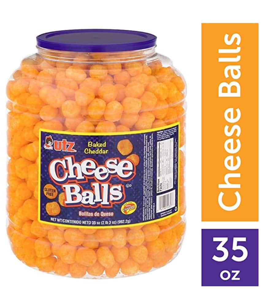Utz Cheese Balls – 35 Ounces $6.88 FS w/ Prime Deal is Back