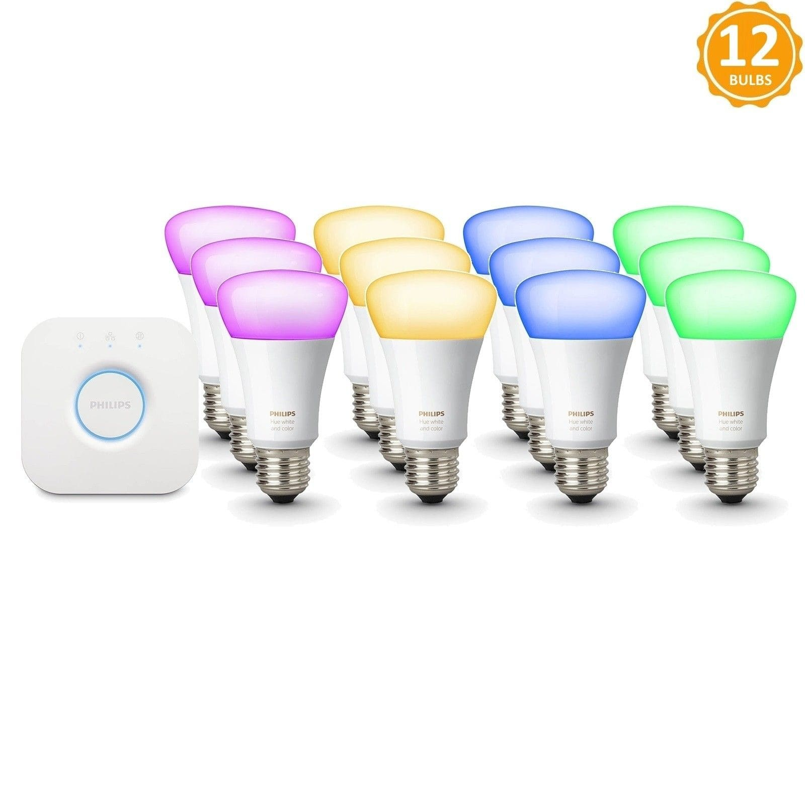 NEW Philips HUE White and Color Ambiance Bulb 3rd Generation
