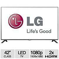 "TigerDirect Deal: LG 42"" Class 1080p LED HDTV 60HZ - 42LB5600 $299 + Tax @MicroCenter, Free Store Pickup."