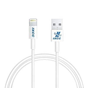 iXCC 3ft Apple MFi Certified Lightning 8pin to USB Charge and Sync Cable for iPhone SE/5/6/6s/7/Plus/iPad Mini/Air/Pro, $3.50 AC, FS with Prime
