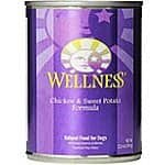 10% OFF Wellness Natural Canned Dog Food with 5% Coupon + S&S + FS