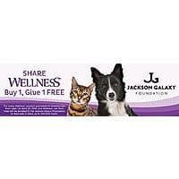 Amazon Deal: Buy 1, Give 1 FREE on Wellness Dog & Cat Food on Amazon.com and Wag.com + FS, S&S etc.