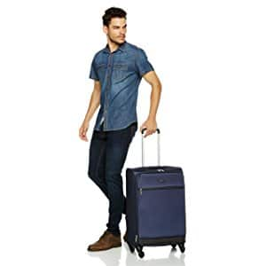 "AmazonBasics Softside Spinner Luggage 3 piece Set (21"", 25"", 29"")  $79.99"
