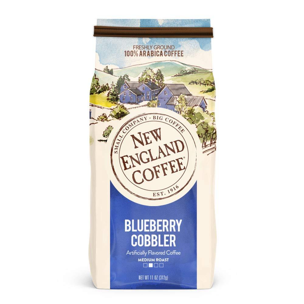 New England Blueberry Cobbler, Medium Roast Ground Coffee, 11 Ounce $3.78