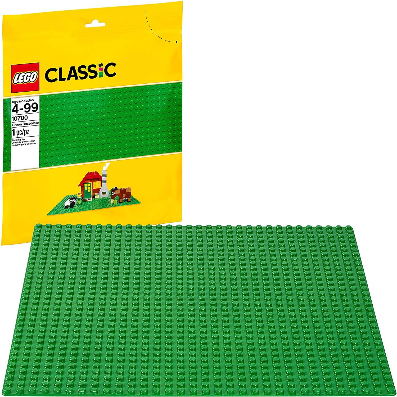LEGO Classic Green Baseplate 10cm x 10cm $4.99