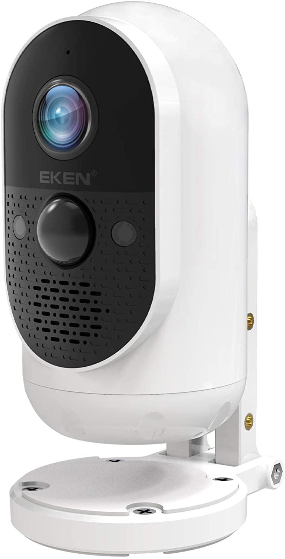 1080P WiFi Wireless Security Camera w/ Detachable Battery $32