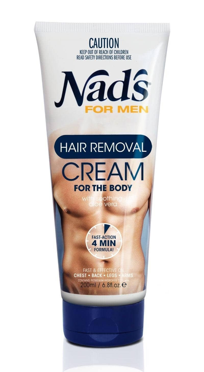 8.6oz Nad's for Men Hair Removal Cream w/ S&S $3.57