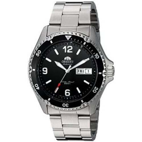 Orient Men's 'Mako II' Japanese Automatic Stainless Steel Diving Watch $117.98
