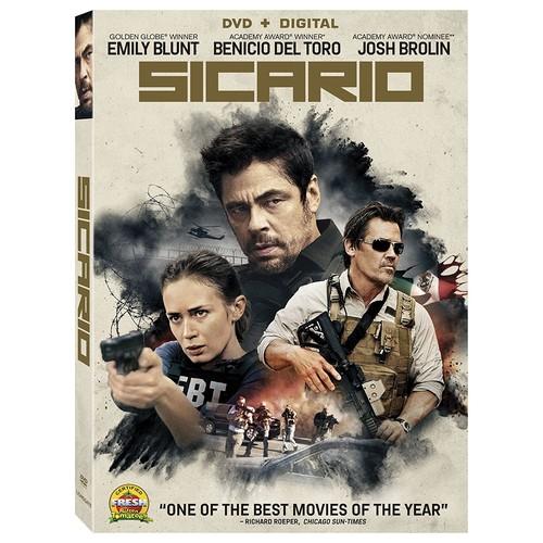 Sicario [DVD + Digital] $3.99