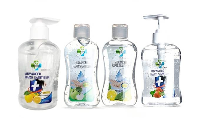 Antibacterial Hand Sanitizer Moisturizer with 75% Ethyl Alcohol 3-Pack $29.99