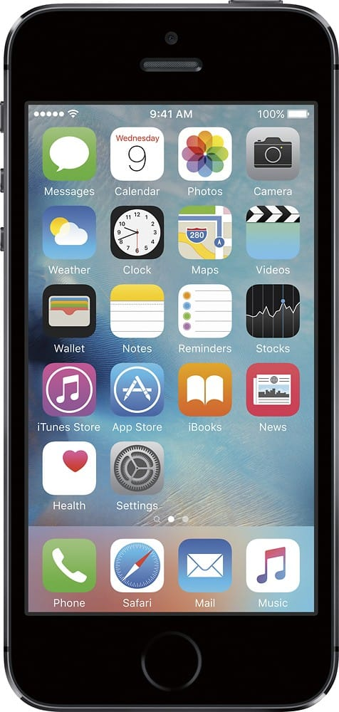 iPhone 5S (AT&T) Space Gray 16GB $199.99