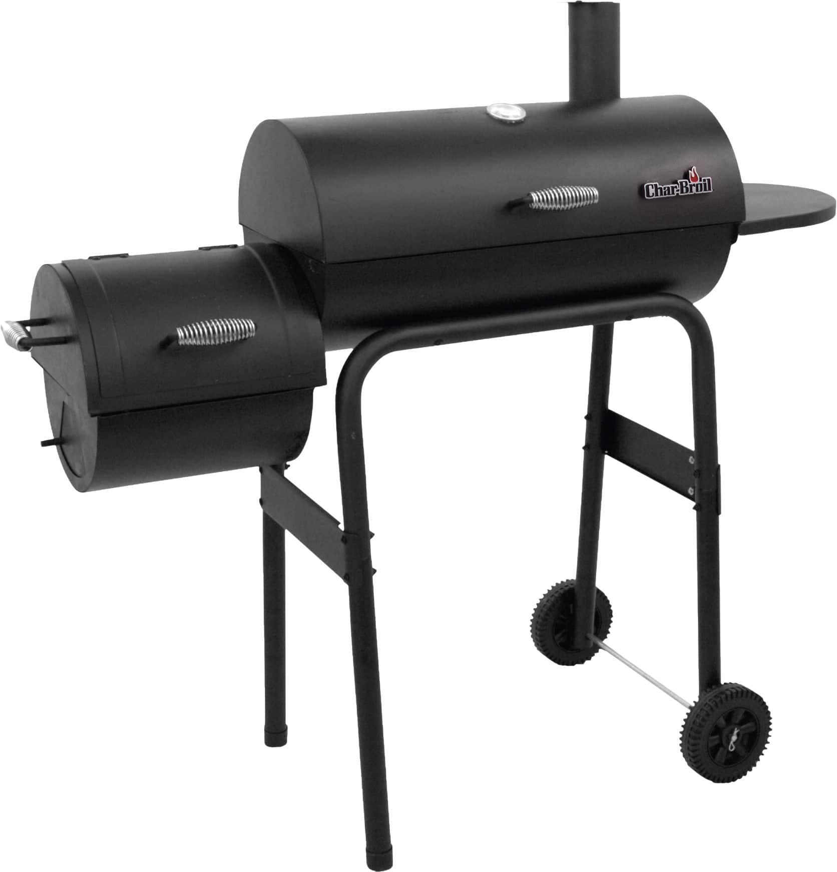 Char-Broil 430 Offset BBQ Smoker Grill $79.99 + Free Shipping