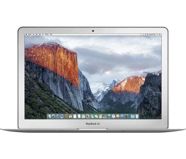 """Apple 13.3"""" Macbook Air: Core i5, 128GB SSD, 8GB LPDDR3 $900 or Less + Free S&H (Latest Model) @ Best Buy"""