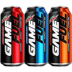 Mountain Dew Game Fuel 3 Flavor 16 oz. cans 12 Packaging May Vary, 3FL Variety Pack, 192 Fl Oz~$11.50 @ Amazon~Free Prime Shipping!
