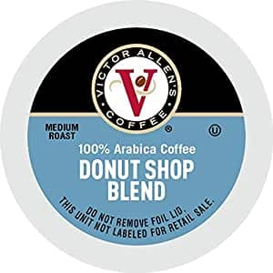 Victor Allen's Coffee Donut Shop, Medium Roast, 80 Count Single Serve Coffee Pods for Keurig K-Cup Brewers~$16.79 After Coupon & S&S @ Amazon~Free Prime Shipping!