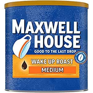 Maxwell House Wake Up Roast Medium Roast Ground Coffee (30.65 oz Canister)~$3.91 After Checkout Savings & S&S @ Amazon~Free Prime Shipping!
