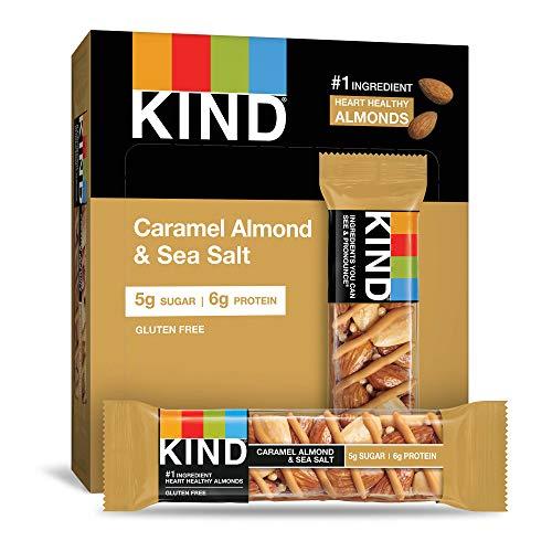 12-Count 1.4oz KIND Healthy Snack Bar (Caramel Almond & Sea Salt) $8.25